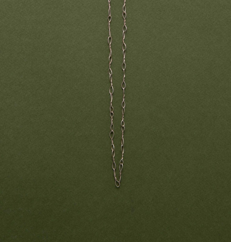 chain necklace (silver)#1
