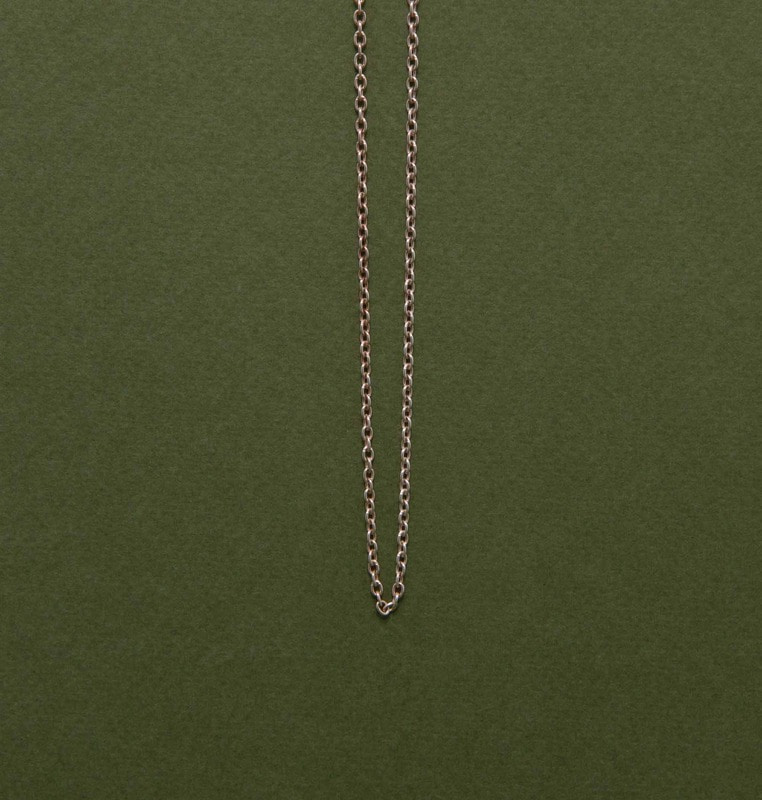 chain necklace (silver)#2