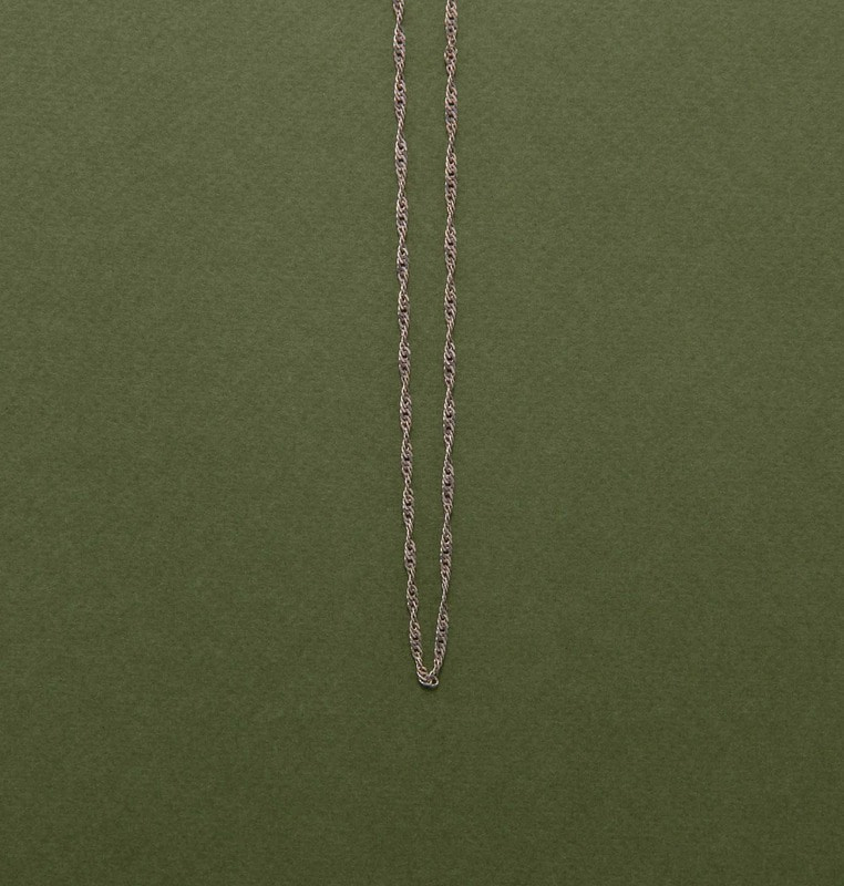 chain necklace (silver)#3