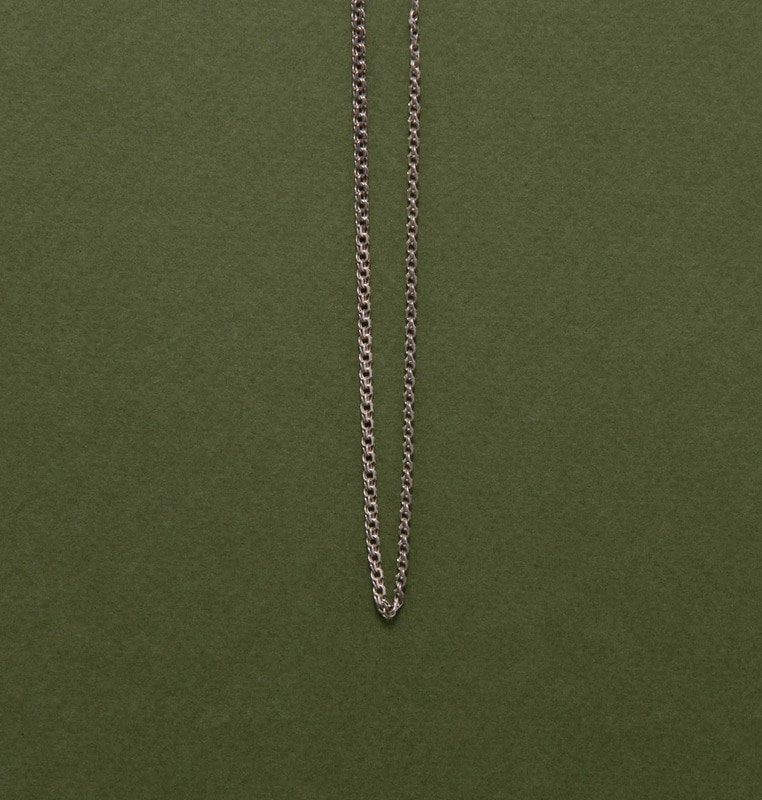 chain necklace (silver)#4