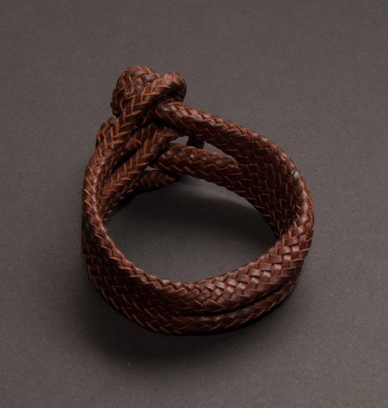 braided leather bracelet #5