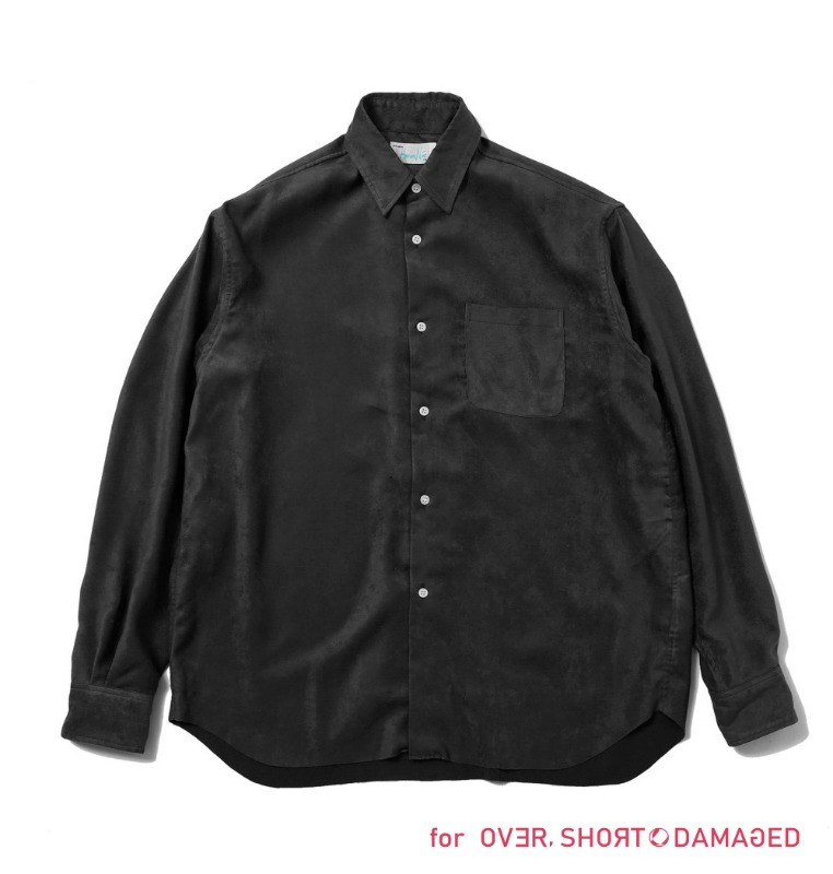 fake suede shirt  for o,s&d