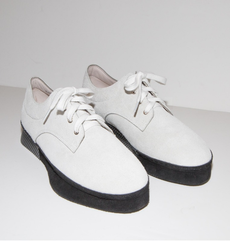 ×DOUBLE FOOT WEAR  LEATHER SNEAKERS  os&d exclusive
