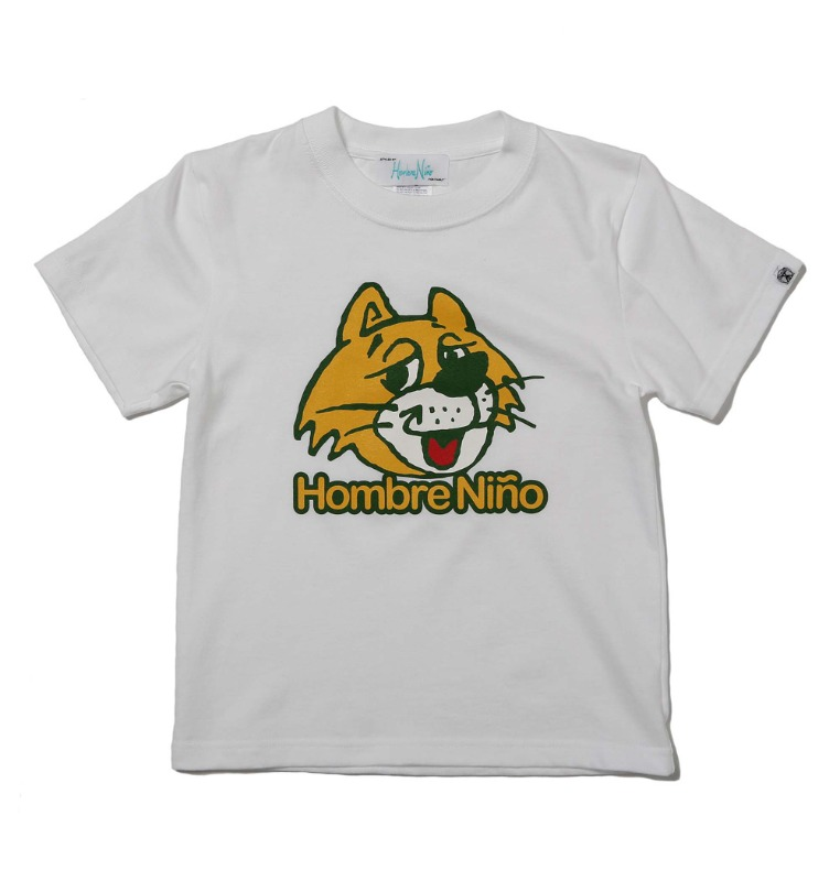 kids short sleeveprint tee (cat)